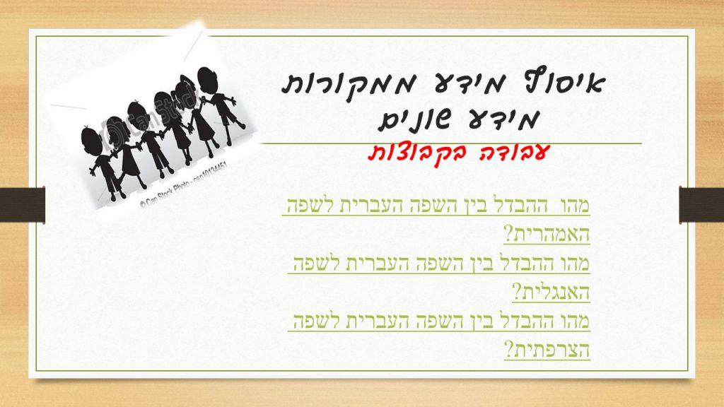 Artwork from the book - עבודת חקר כתה ד'1 by shirit - Illustrated by מחנכת הכיתה : שירית עמרני - Ourboox.com