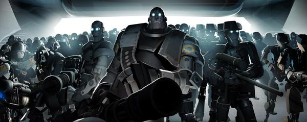 Team Fortress 2 by Davide Alario - Illustrated by Davide Alario - Ourboox.com
