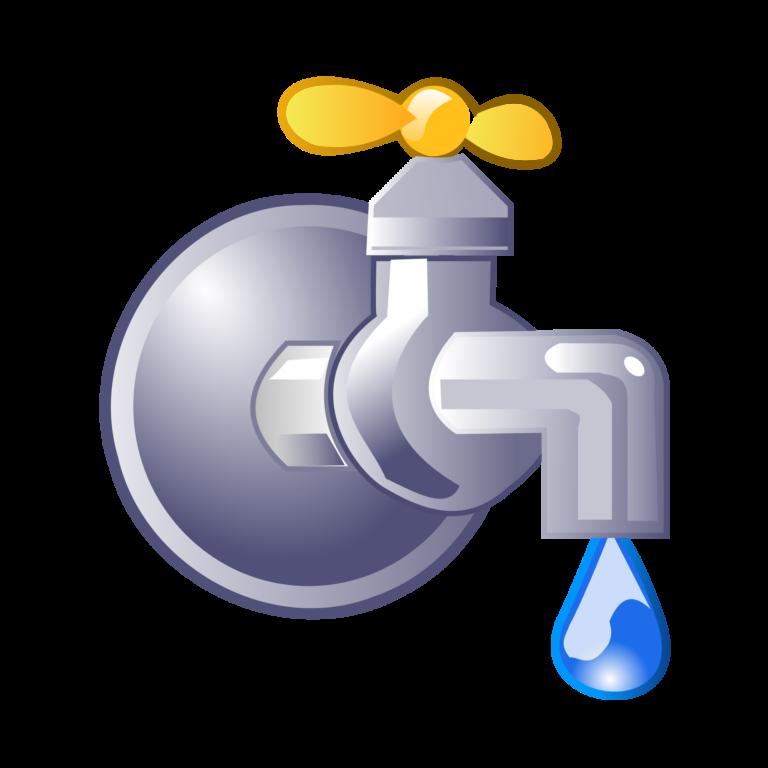 Картинка кран с водой для детей