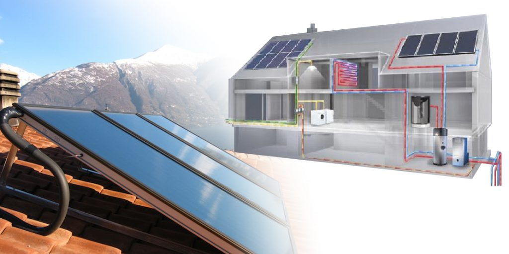 Utilizzo dell'energia solare nelle tecnologie termoidrauliche. Tesina by Causa Gabriele - Illustrated by Causa Gabriele - Ourboox.com