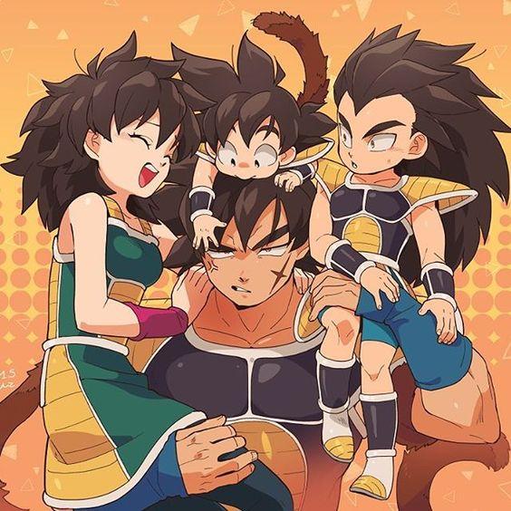 Goku incontra la sua vera famiglia by Francesca - Illustrated by Sgammato Francesca - Ourboox.com