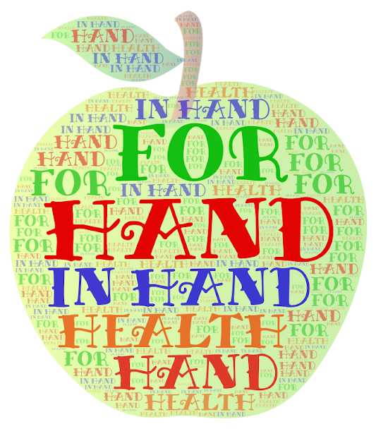Artwork from the book - Hand In Hand For Health-The best fruit platter by EROL - Illustrated by EROL YILDIRIM - Ourboox.com