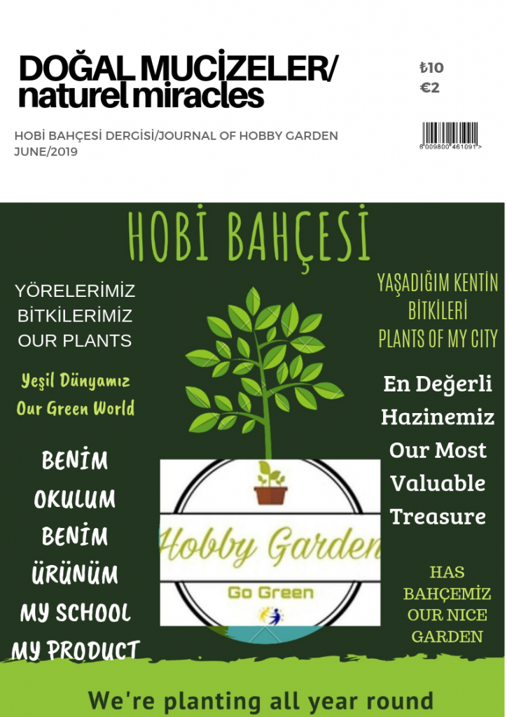 Artwork from the book - HOBİ BAHÇESİ/HOBBY GARDEN by dilek engin - Illustrated by PROJE EKİBİ/PROJECT PARTNERS - Ourboox.com