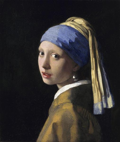 Artwork from the book - Vermeer by Evdoxia Sapnara - Illustrated by Johannes Vermeer - Ourboox.com