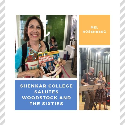 Shenkar College Salutes Woodstock and the Sixties by Mel Rosenberg - מל רוזנברג - Ourboox.com