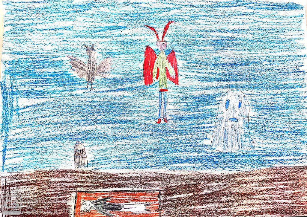 Artwork from the book - La nostra avventura in classe quarta…tra amicizia, emozioni e nuove scoperte! by Lucia Addiechi - Ourboox.com