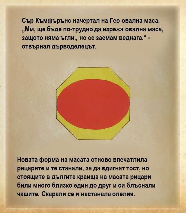 Сър Къмфърънс и кръглата маса – Математическа приказка by Лили Станева - Ourboox.com