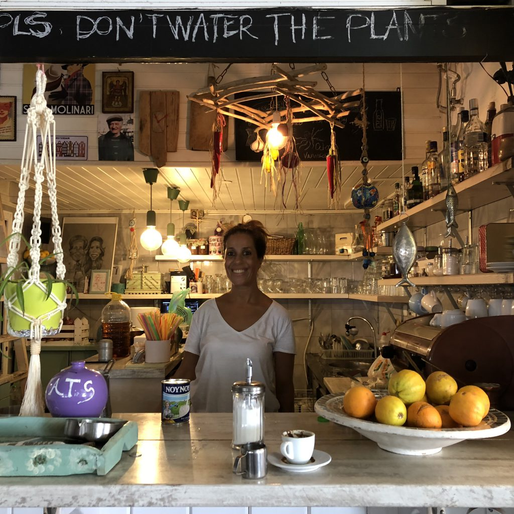 The Amazing Story of the Symi Cafe, Rhodes by Mel Rosenberg - מל רוזנברג - Ourboox.com