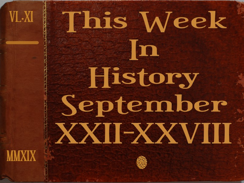 This week in history by lior hovav - Ourboox.com