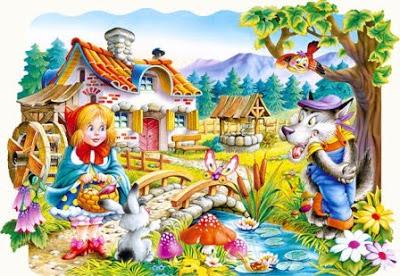 Rotkäppchen by Suzana Noemi Špičak - Illustrated by Internet - Ourboox.com