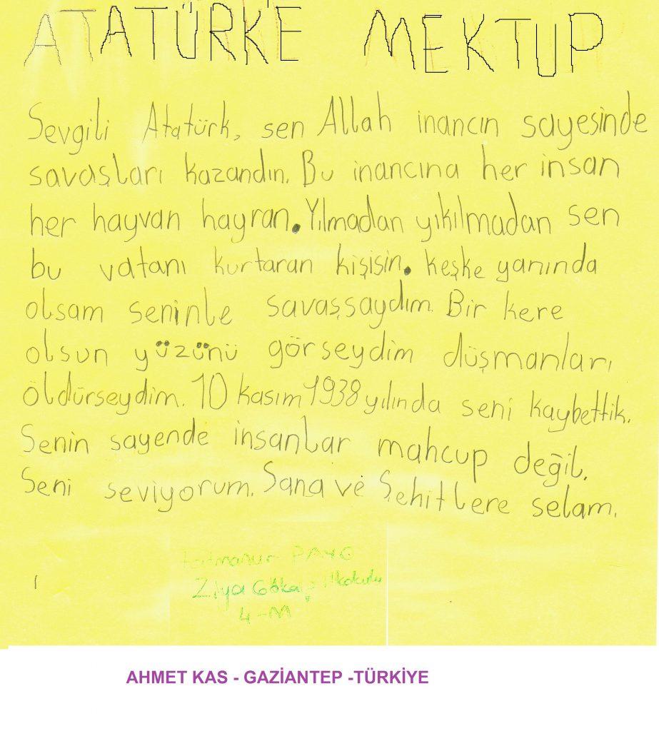 Proje ortak ürünümüz 10 Kasım by Ahmet KAS - Ourboox.com