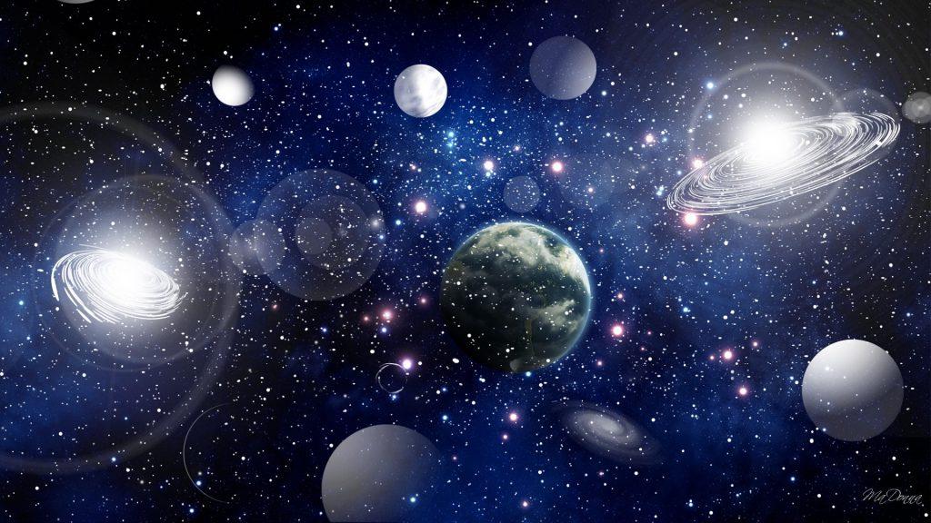 الفضاء والعالم الخارجي by lian - Illustrated by ليان حاج يحيى - Ourboox.com