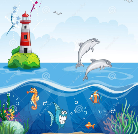 Ein Tag in Meer by Noemi Cottafavi - Illustrated by Noemi und Aurora  - Ourboox.com