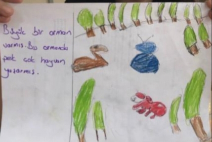 ALACA KUŞ by Seher AŞNAN - Illustrated by Sevgiyle Bütünleşen Kalpler Proje Ekibi - Ourboox.com