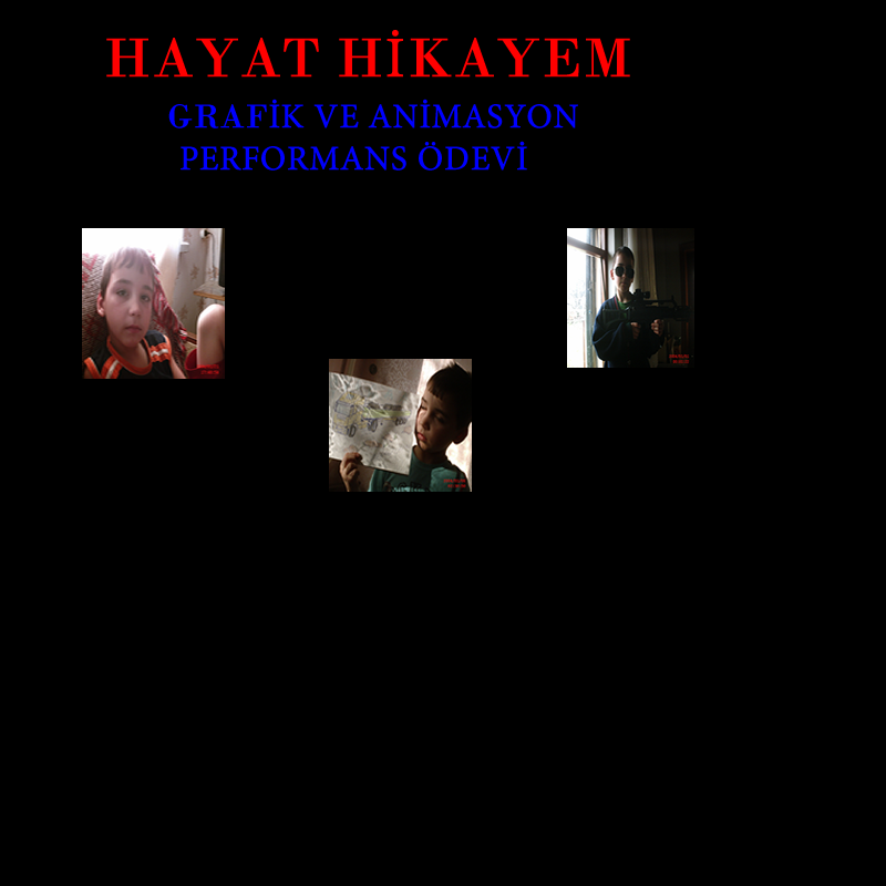 BENİM HİKAYEM by Erkan Çetin - Illustrated by Erkan Çetin - Ourboox.com