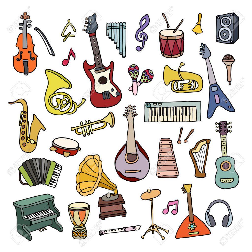 Einteilung der Musikinstrumente by morena - Ourboox.com