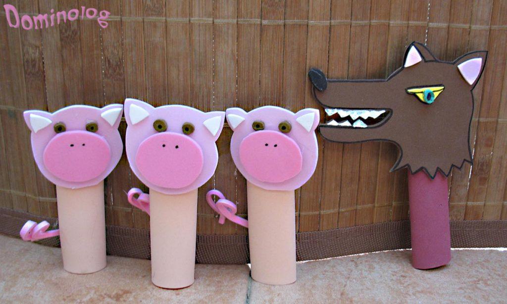 שלשת החזירונים by mohmd and ibrahem - Illustrated by מנצ - Ourboox.com