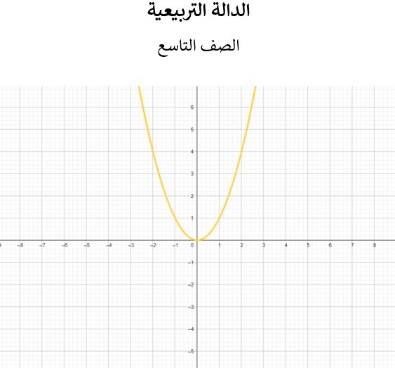 الداله التربيعيه by Nadine Mari - Ourboox.com