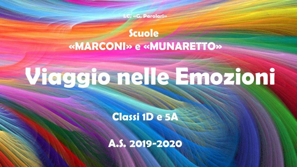 Viaggio nelle emozioni by Scuola Marconi - Ourboox.com