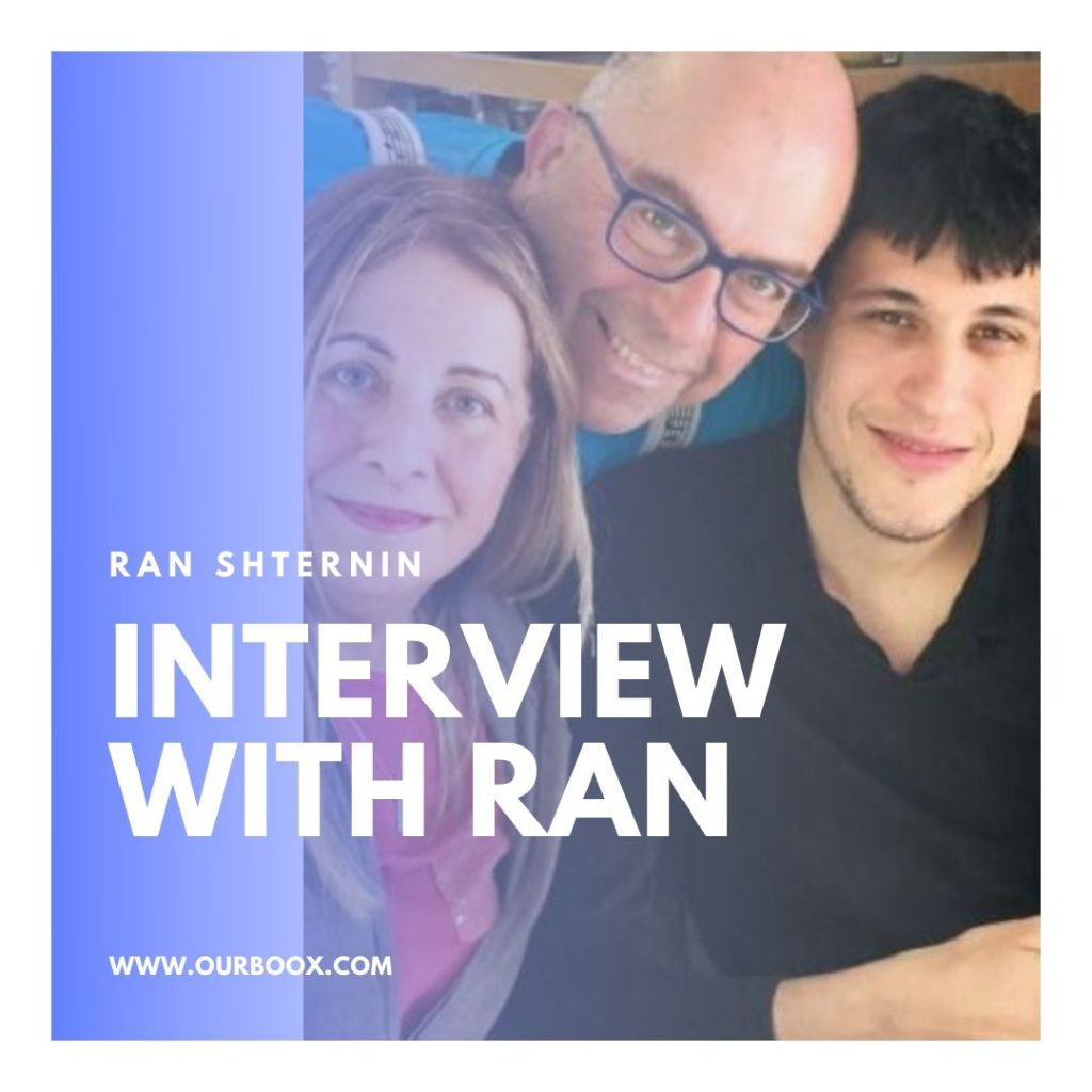 Interview with Ran by Ran Shternin - Ourboox.com