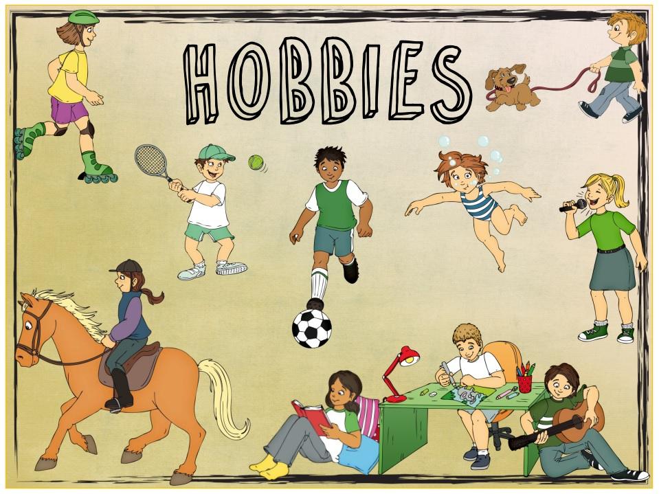 Unsere Hobbys by 5. Gymnasium Palaiou Falirou, Athen, Griechenland - Illustrated by 5. Gymnasium Palaiou Falirou - Ourboox.com