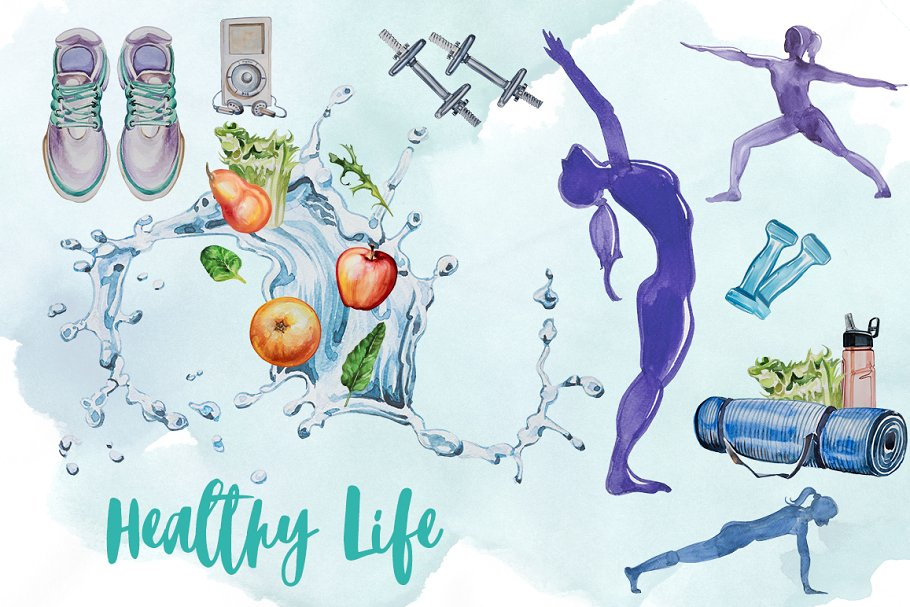 HEALTYH LIFE by BE IN THE GAME BOAT - Illustrated by Be In The Game Boat Partners - Ourboox.com