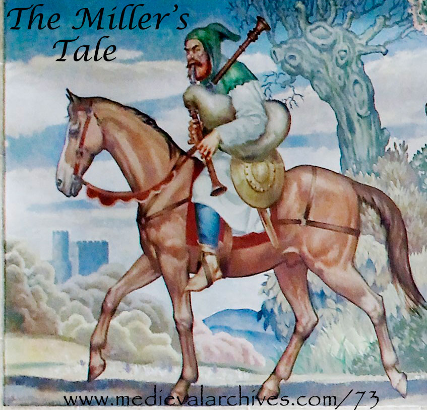 Summary: the Miller's Tale and Prologue by Stefano Giampieri - Illustrated by me - Ourboox.com