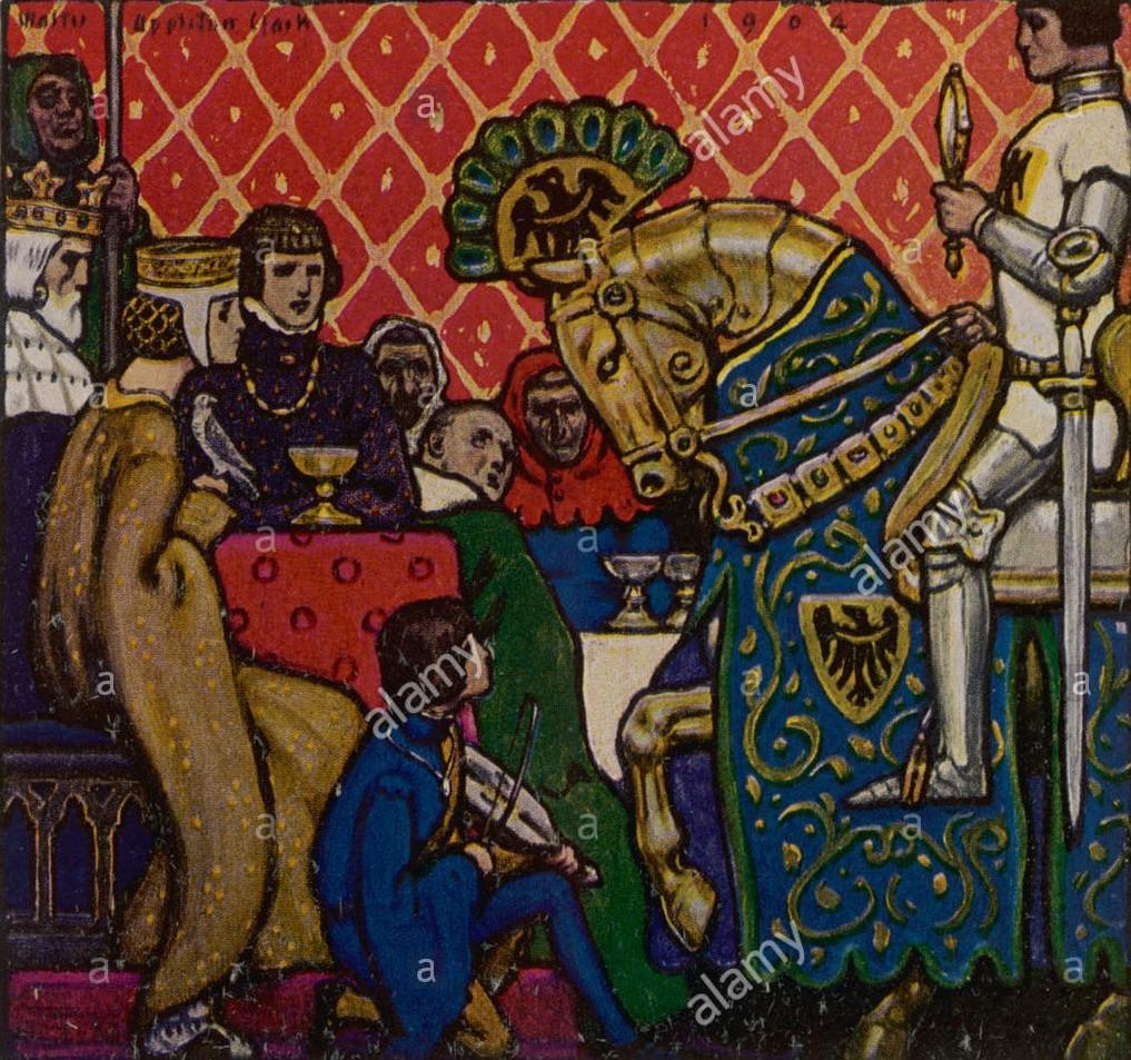 The Squire's Tale by Mattia - Illustrated by Mattia Benedetti - Ourboox.com