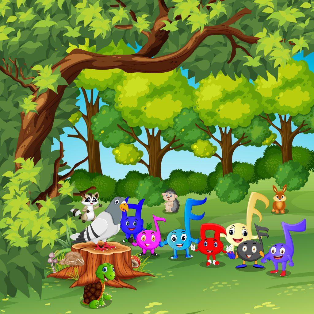 סיפור התווים by Anna Fine - Illustrated by נעמה פיין - Ourboox.com