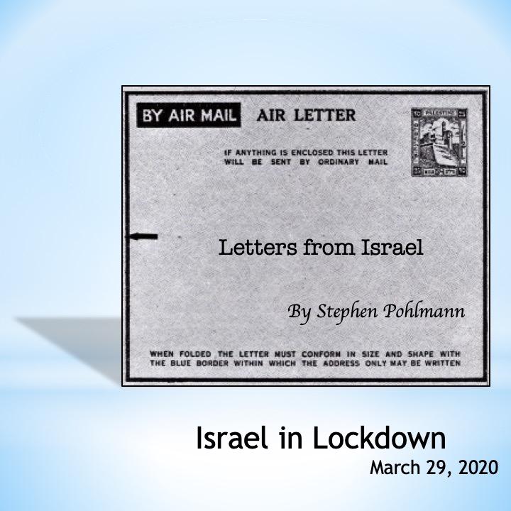 # 356 – Israel in Lockdown by Stephen Pohlmann - Ourboox.com