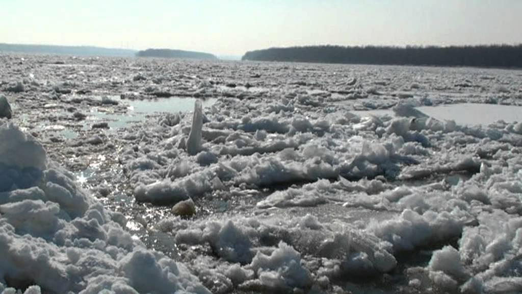 ледоход край Мартен