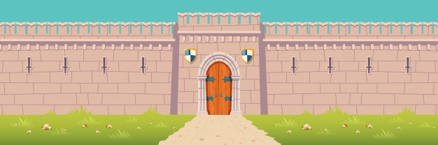Medieval castles in Europe by Niamh McCullagh - Illustrated by Jason Balformio - Ourboox.com