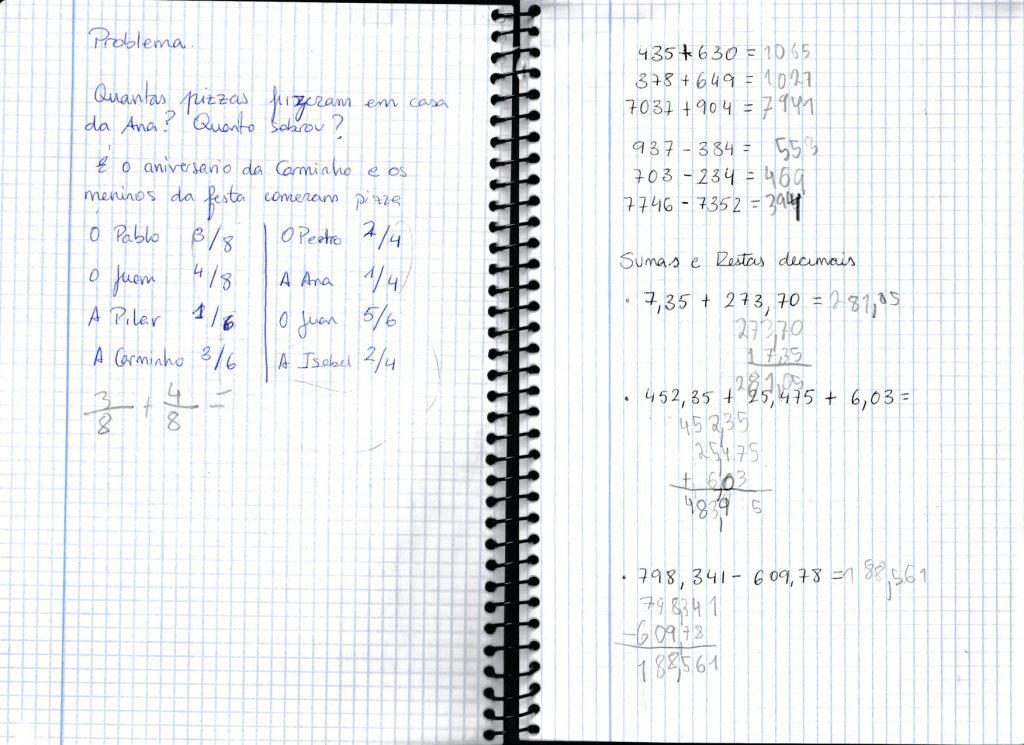 Caderno Casa Matemáticas Pablo by Pablo Cuadrado - Illustrated by Pablo Cuadrado Tejeda - Ourboox.com