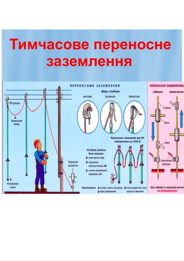 Засоби захисту в електроустановках by Irina Shepeljakovskaja - Ourboox.com