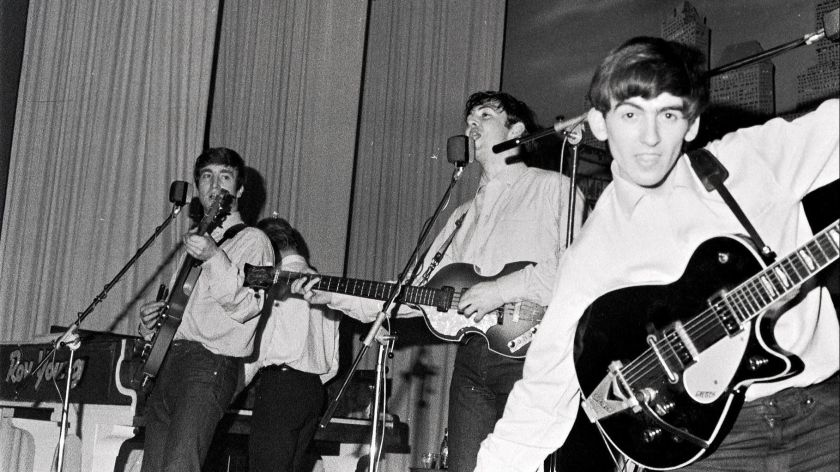 the debut of the Beatles.