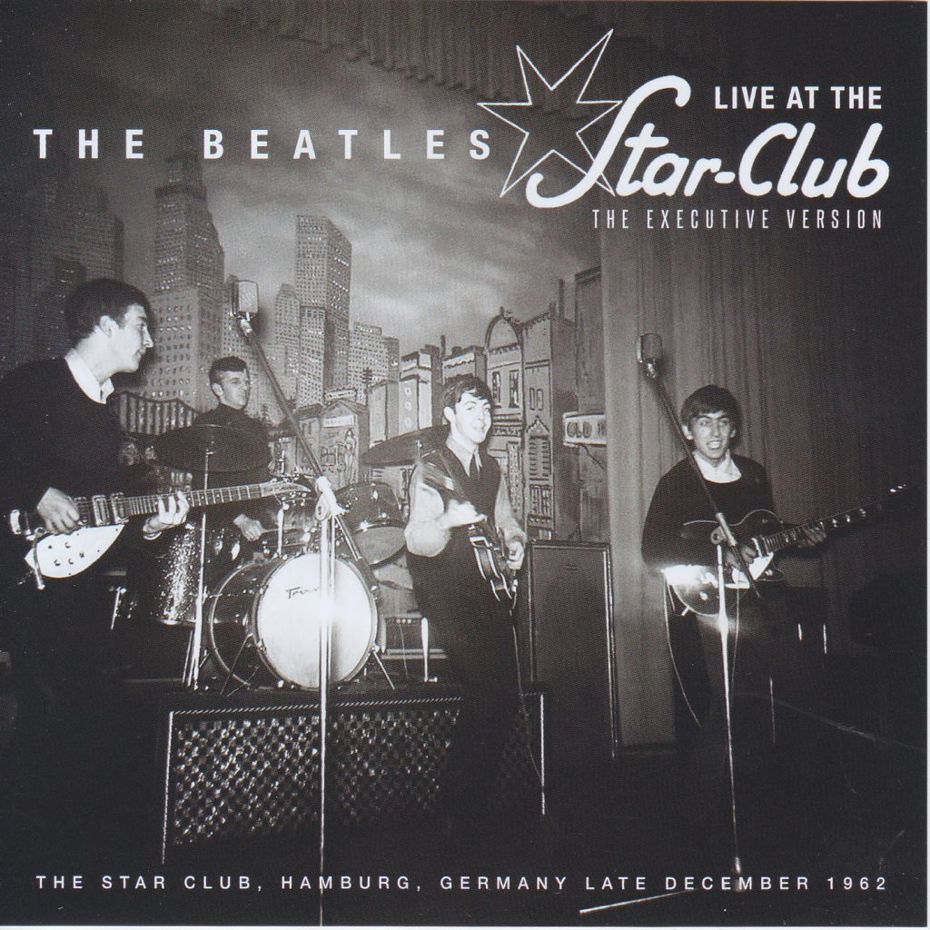 The Beatles performance in Hamburg by Umberto Ghariani - Illustrated by https://www.discjapan.com/product/beatles-the-live-at-the-star-club-the-executive-version-2cd-non-label/ - Ourboox.com