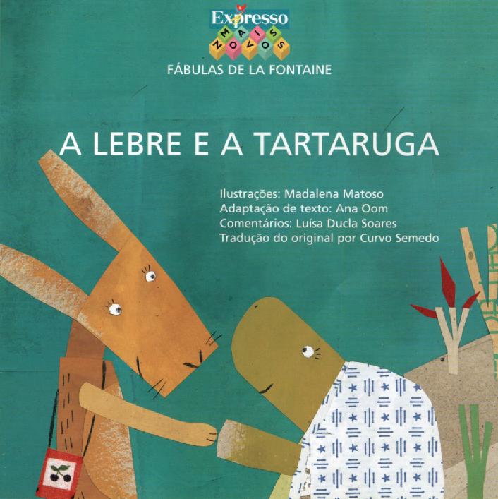 A Lebre e a Tartaruga by marisa - Ourboox.com