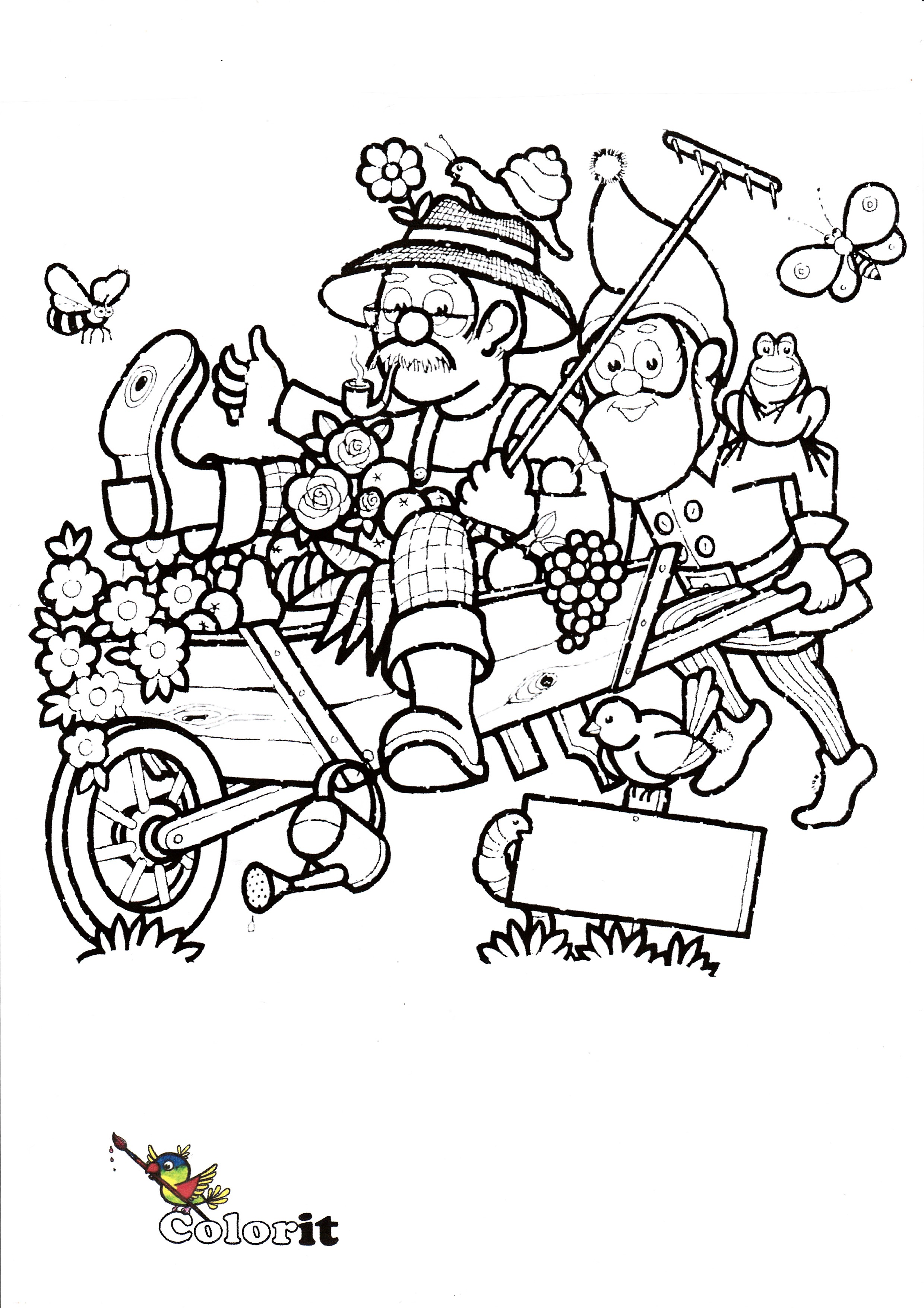 """""""Springtime on Parade"""" by Kees van Driel - Illustrated by Kees - Ourboox.com"""