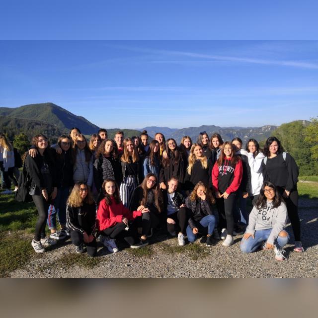 Unser erstes Jahr am Fanti Institut by primakappa - Illustrated by Klasse 1k Liceo Fanti  Carpi (MO) Italien - Ourboox.com