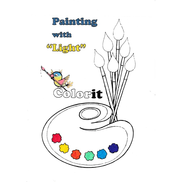 """Painting with Light Extravaganza"" by Kees van Driel - Ourboox.com"