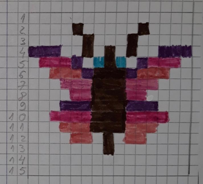 PIXEL ART by Teresa Paola Aiello - Illustrated by I BAMBINI DELLA 1^B - Ourboox.com