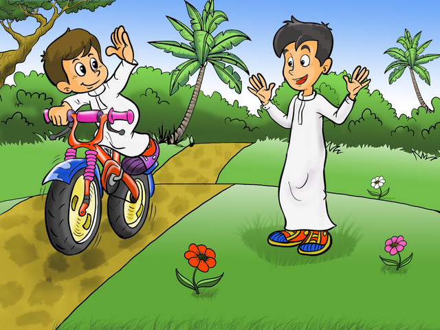 آداب الطريق by mahra abdallah - Illustrated by mahra abdallah - Ourboox.com