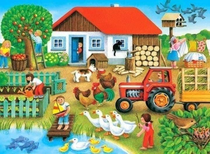 """""""Животните във фермата"""" by Irena Ivanova - Ourboox.com"""