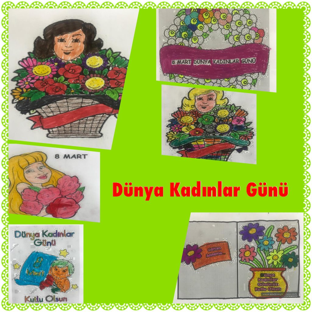 OUR HAPPY WOMEN OUR HAPPY MOTHERS/DÜNYA KADINLAR GÜNÜ ETKİNLİKLERİ by İlkay Özdemir - Ourboox.com