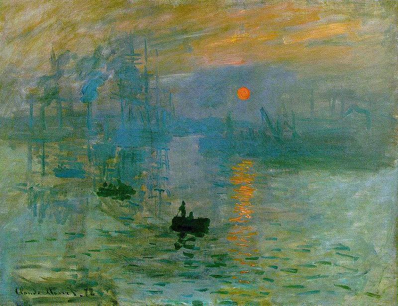 «Враження. Схід сонця» (фр. Impression, soleil levant) 1872