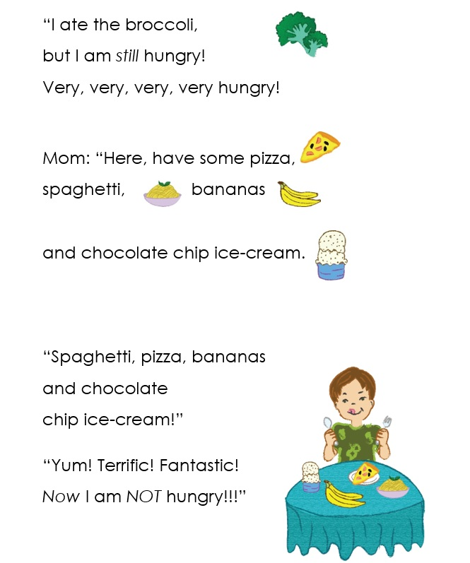 The Very, Very, Very Hungry Boy by Gaila Cohen Morrison - Ourboox.com