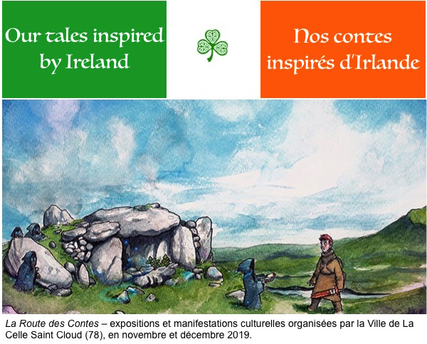 Discovering Ireland – Découvrir l'Irlande by Kate Chambers - Illustrated by The students, images selected by them on commons.wikimedia.org or search.creativecommons.org - Ourboox.com