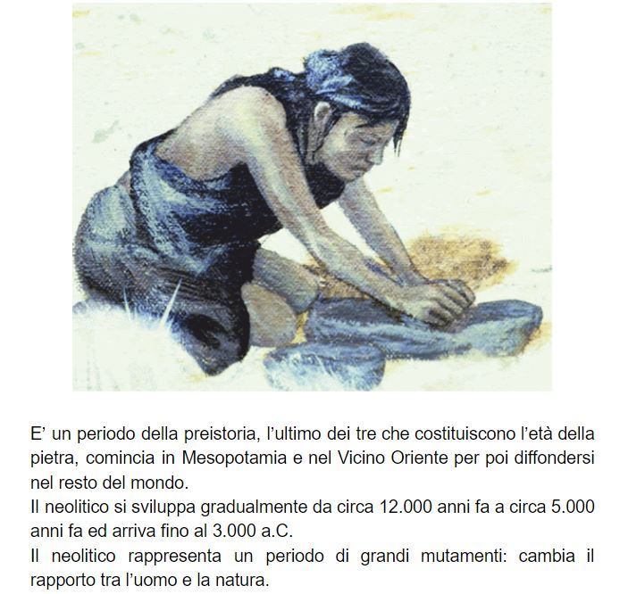 """Il Neolitico by Istituto Comprensivo Frosinone 4 - Illustrated by Alunni classe terza A plesso """"Maiuri"""" - Ourboox.com"""