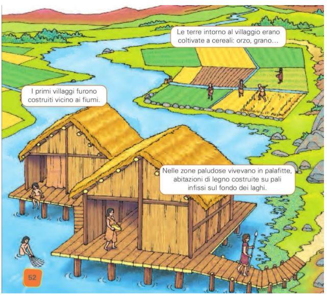 """Neolitico by Istituto Comprensivo Frosinone 4 - Illustrated by Alunni classe terza A plesso """"Maiuri"""" - Ourboox.com"""