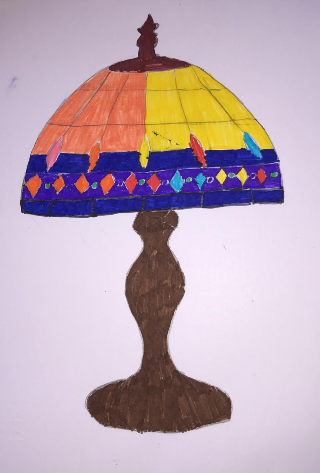 LA LAMPADA DI TIFFANY